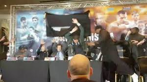 Meme Throws Table - dereck chisora throws table at dillian whyte as tensions boil over