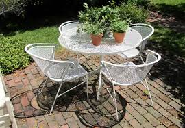 Metal Mesh Patio Table Spectacular Iron Mesh Patio Furniture Ideas Metal Patio Table And