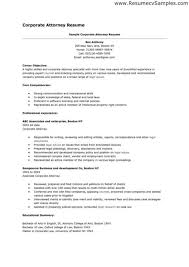 commercial law attorney resume sample resume for an attorney tax