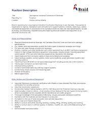 sample resume maintenance worker industrial electrician resume samples free resumes tips self employed electrician resume sales electrician lewesmr