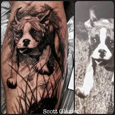 boxer dog tattoo tattoo collections