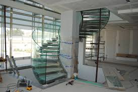 helical glass stair italian stairs stairs stairwells