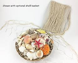 nautical seaside beach decorative sea ocean fish net shell home