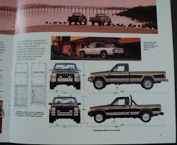 1988 jeep comanche jeep comanche pioneer eliminator chief laredo original sales brochure