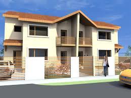fancy idea 7 duplex house plans exterior modern for designs floor