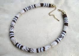 beaded rope bracelet images Diy beaded rope necklace fabdiy jpg