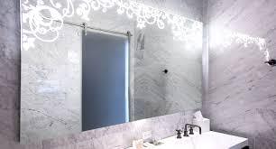 bathrooms design illuminated wall mirror led mirror lights big