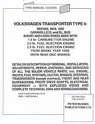 russek publications vw vehicle workshop manuals