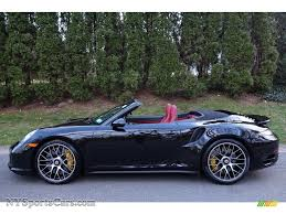 porsche convertible black 2015 porsche 911 turbo s cabriolet in basalt black metallic photo