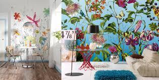 mesmerizing mural designs brewster home abstract flowers joli jardin wall murals