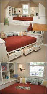 How To Build A Platform Bed With Storage Drawers by Wood Daybed With Storage Foter
