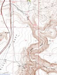 Lake Vermilion Map Topographic Map Of Badger Springs Canyon Agua Fria National