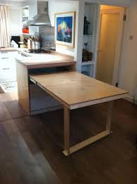 Fancy Ideas Folding Kitchen Table Home Designing - Foldable kitchen table