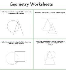 geometry geometry worksheet for kids