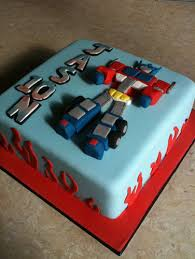 transformer cake toppers transformers optimus prime personalised edible icing cake topper 7