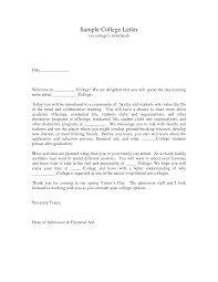 College Application Letter For Leave College Application Cover Letters 78 Images Admissions