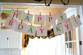 birthday party decoration ideas for kids at home children