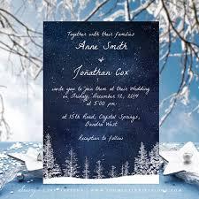 winter wedding invitations winter wedding invitation snow wedding navy blue wedding invite