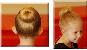 bun hairstyle for kids