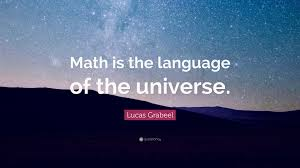 lucas grabeel quote u201cmath is the language of the universe u201d 10