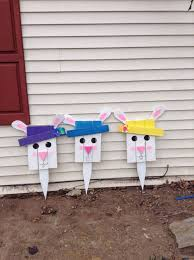 Easter Bunny Lawn Decoration Kit by 762 Best Images About Easter Ideas On Pinterest Sock Bunny