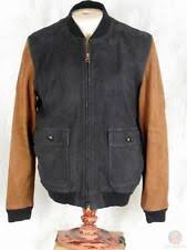 Wallace And Barnes Bomber J Crew Suede Coats U0026 Jackets For Men Ebay