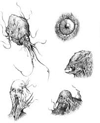 monster sketches by bawarner on deviantart