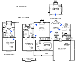custom built home floor plans house floor plans the covington st louis mo