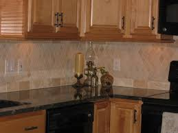 traditional kitchen backsplash travertine tile backsplash home decorating interior design