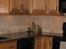 Tiles Backsplash Kitchen Travertine Tile Backsplash Home Decorating Interior Design