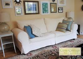 Slipcovers For Pillow Back Sofas by Cozy Cottage Slipcovers From Pillows To Boxed Cushions