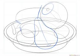 Easy To Draw Chandelier How To Draw A Bowl Of Fruits Step By Step Drawing Tutorials