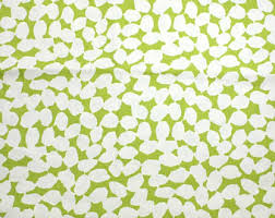 Yellow Home Decor Fabric Green Home Decor Etsy