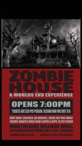 zombie house a world u0027s end experience northland village