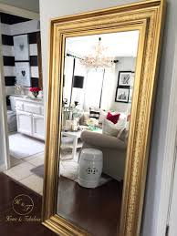 elongated mirrors like this one from homegoods really give the