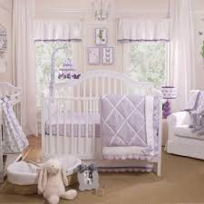 Purple Crib Bedding Set Purple Baby Bedding Lavender Crib Bedding Carousel Designs Lilac