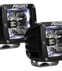 Rigid Rock Lights Rigid Industries A Series Lights 2pc Polaris Rzr Dome Light