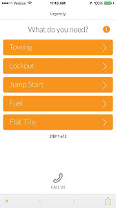 map qwest flat tire mapquest iphone app now offers roadside assistance cnet