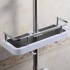 Bathroom Shower Storage by Bathroom Pole Shelf Shower Storage Caddy Rack Organiser Tray