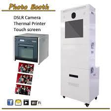photobooth printer modern design photo booth printer kiosk with digital canon