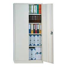 armoire de bureau à portes battantes pour dossiers suspendus