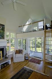 delightful loft living with wood floors screened porch