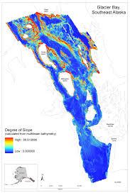State Of Alaska Map by Geologic Characteristics Of Benthic Habitats In Glacier Bay
