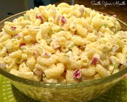 pasta salad with mayo south your mouth creamy macaroni salad