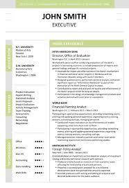 executive resume templates executive resume template cover letter portfolio