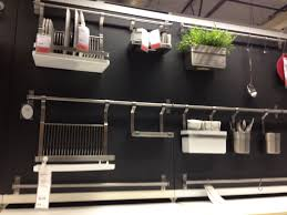 backsplash ikea kitchen wall organizer ingenious kitchen