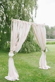 wedding arches canada a stunning simple wedding arch with a chandelier so much