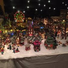 christmas villages lots of christmas villages cool atmoshpere picture of co