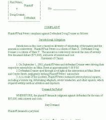 civil complaint template complaint email template
