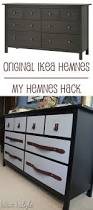Ikea Hemnes Dresser Hack Diy With Style Leather Belt Drawer Pulls Blue I Style